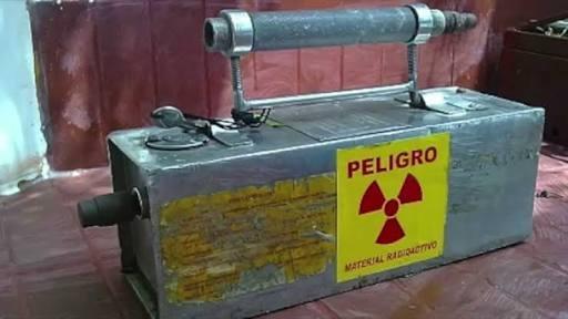Emite Segob alerta en 6 estados por fuente radioactiva robada