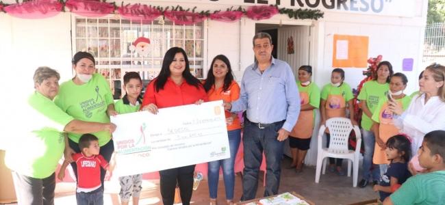 Bachoco dona más de 3 toneladas de alimento a comedores comunitarios