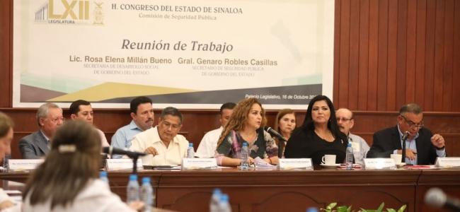 Gobierno de Sinaloa atiende a familias desplazadas en el sur de la entidad