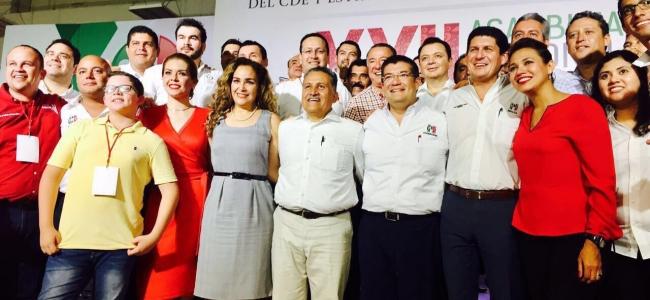 Álvaro Ruelas asume la coordinación nacional de presidentes municipales de la CNOP.
