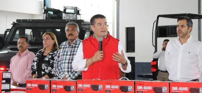 En Ahome tenemos la mejor policía de Sinaloa: Álvaro Ruelas Echave.